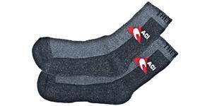 ponožky černošedé termo silné vel. 4041 1 pár