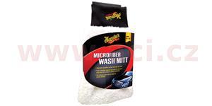 MEGUIARS Microfiber Wash Mitt mycí RUKAVICE z mikrovláken 20x28x4 cm