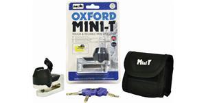 zámok kutúčovej brzdy Mini T OXFORD UK chrom