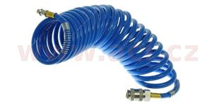 Hadice vzduchová spirálová se spojkou vnútroný priemer 5 mm 5 m