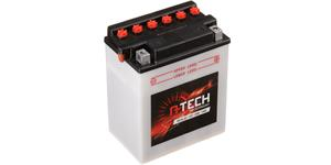 motobatéria 12V CB14L-A2 14Ah 190A konvenční 134x89x166 vr. balení elektrolytu