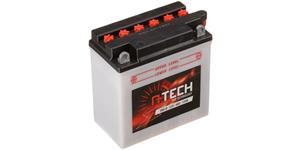motobatéria 12V CB9-B 9Ah 130A konvenční 135x75x139 vr. balení elektrolytu