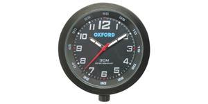 analogové hodiny OXFORD UK čierny rámeček luminiscenční ciferník