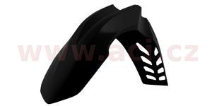 blatník pred. Honda CRF 250 R 10-13 CRF 450 R 09-12 RTECH  čierny s průduchy