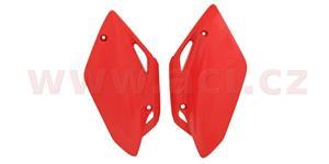 bočné číslové tabulky Honda CRF 150 R/RB 07-16 RTECH  červené pár