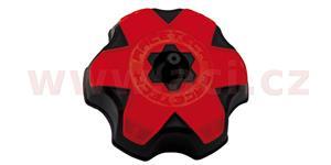 víčko nádrže replika Kawasaki/Suzuki/Yamaha, RTECH - Itálie (černá/červená)