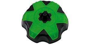 viečko nádrže Kawasaki RTECH čierna/zelená