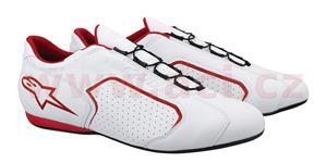 boty MONTREAL, ALPINESTARS - Itálie (bílá/červená, vel. 40)
