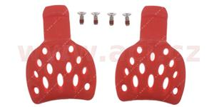 slidery paty pro boty SUPERTECH R, ALPINESTARS - Itálie (červené, pár, vel. 39/41)