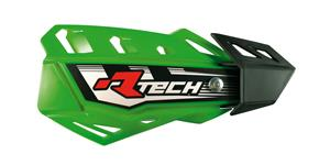 kryty páčok FLX RTECH  zelené 4 varianty v 1 vr. montážný sady
