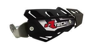 kryty páček FLX ATV, RTECH - Itálie (černé, 4 varianty v 1, vč. montážní sady, průměr konusu 14 a 18mm)