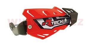 kryty páčok FLX ATV RTECH  červené odst. Honda CRF 4 varianty v 1 vr. montážný sady