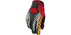 rukavice 907 MX NEOPREN, FLY RACING - USA (černá/červená, vel. S)