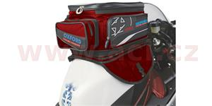 tankbag na motocykl X40 Lifetime Expander 2014, OXFORD - Anglie (červený, objem 40l)