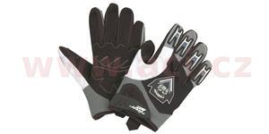 rukavice Cross, ROLEFF - Německo (černé/šedé, vel. L)