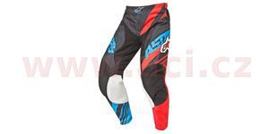 Nohavice Racer Supermatic ALPINESTARS čierna červená modrá vel. 30