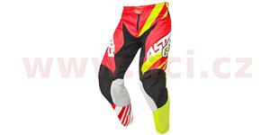 Nohavice Racer Supermatic ALPINESTARS červená žltá biela vel. 30