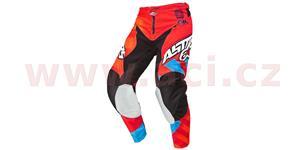 Nohavice Racer Braap ALPINESTARS oranžová červená modrá vel. 22