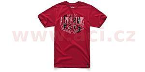 Tričko DIAMOND 63 krátký rukáv ALPINESTARS červené vel. S