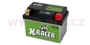 lithiová batéria 1 X-RACER 12V 10Ah 120A hmotnost 0.5kg 113x70x85