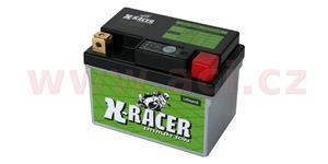 lithiová batéria 2 X-RACER 12V 12Ah 150A hmotnost 0.6kg 113x70x85
