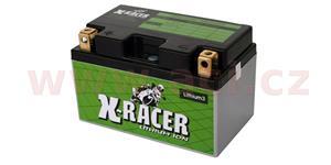 lithiová batéria 3 X-RACER 12V 18Ah 240A hmotnost 0.9kg 150x87x93