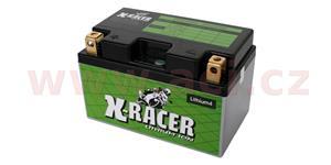 lithiová batéria 4 X-RACER 12V 22Ah 290A hmotnost 1.1kg 150x87x93