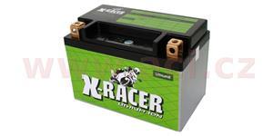 lithiová batéria 8 X-RACER 12V 15Ah 180A hmotnost 0.7kg 150x87x105