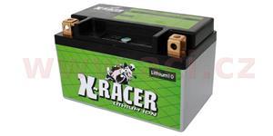 lithiová batéria 10 X-RACER 12V 20Ah 240A hmotnost 1.1kg 150x87x93