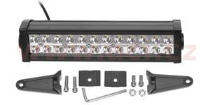 LED pracovní svetlo 72 W napětí 9-60 V 24x3 W Epistar svět. tok 4680 lm délka 340 mm