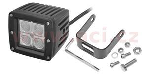 LED pracovní svetlo 16 W napětí 9-60 V 4x4 W CREE-XPE svět. tok 1200 lm 81x81 mm