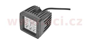 LED pracovní svetlo 24 W napětí 9-60 V 6x4 W CREE-XPE svět. tok 1800 lm 81x81 mm