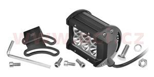LED pracovní svetlo 18 W napětí 9-60 V 6x3 W CREE-XBD svět. tok 1260 lm 99x73 mm