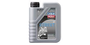 LIQUI MOLY Motorbike 2T Street - polosyntetický motorový 2T olej 1 l