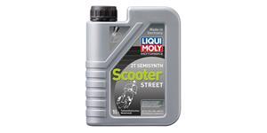 LIQUI MOLY Motorbike 2T Semisynth Scooter - polosyntetický motorový 2T olej 1 l