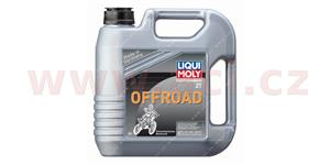 LIQUI MOLY Motorbike 2T Offroad polosyntetický motorový 2T olej 4 l