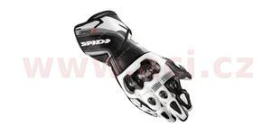 rukavice CARBO 3, SPIDI - Itálie (černé/bílé, vel. XL)