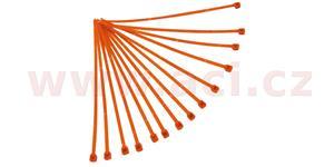 sťahovacie pásky 3 6x180 mm RTECH  oranžové 100 ks