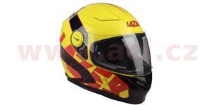 prilba Bayamo Reflex LAZER Belgie žltá fluo čierna červená vel. XL