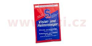 S100 čistiaciubrousek na priezoru a světla - Visier und Helmreiniger Tuch