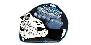 Maska Glow Skull OXFORD UK fluorescenční potisk