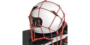 pružná zavazadlová síť pre motocykele OXFORD UK 30x30 cm červená