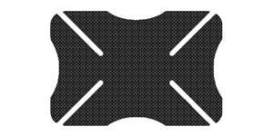 pretektor laku prilby Helmet Bumper OXFORD UK imitace karbon