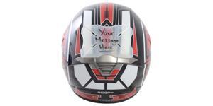 protektor laku přilby Helmet Bumper Message, OXFORD - Anglie (možnost naspsání vlastního textu)