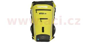 Vodotesný batoh Aqua25R OXFORD UK čierna/fluo objem 25l