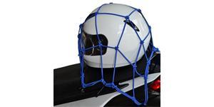 pružná zavazadlová síť pre motocykele OXFORD UK 30 x 30 cm modrá