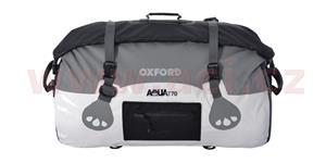 Vodotesný vak Aqua70 Roll Bag OXFORD UK biely/šedý objem 70l