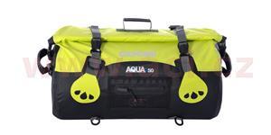 Vodotesný vak Aqua50 Roll Bag OXFORD UK čierny/fluo objem 50l