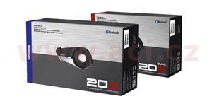 Bluetooth handsfree headset 20S dosah 2 km SENA sada 2 jednotek