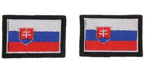 vlajka SK SPIDI  pár nášivka na suchý zip